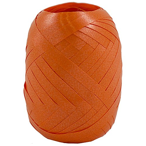 JAM Paper Curling Ribbon - 66 feet - Orange - 100/pack by JAM Paper