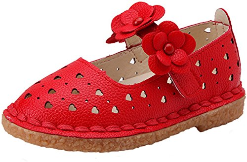 ppxid-toddler-little-girls-flowers-skidproof-ankle-strip-princess-shoes-red-8-us-size