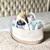 Mila Millie Baby Large Cotton Rope Diaper Caddy