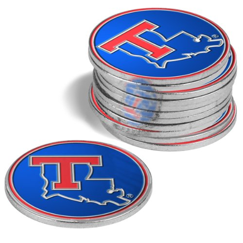 Louisiana Tech Bulldogs Golf Ball Markers (4 Pack)