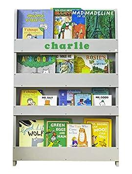 Ecoresponsable Bibliotheque Enfant Etagere Murale De Rangement Pour Livres 115 X 77 X 7 Cm Montessori A La Maison Blanche Tidy Books Loriginale Depuis 2004 Fait Main Meuble Bois Sou L Jp