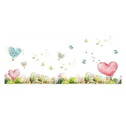 Buy Fashionbeautybuy Heart Shape Flower Butterfly Wall