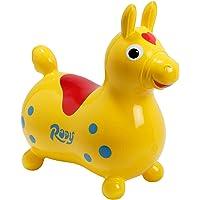 Gymnic Cheval à bascule Rody jaune