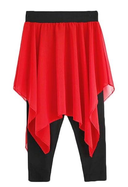Amazon.com: Zukzi - Falda de yoga para mujer con faldas ...