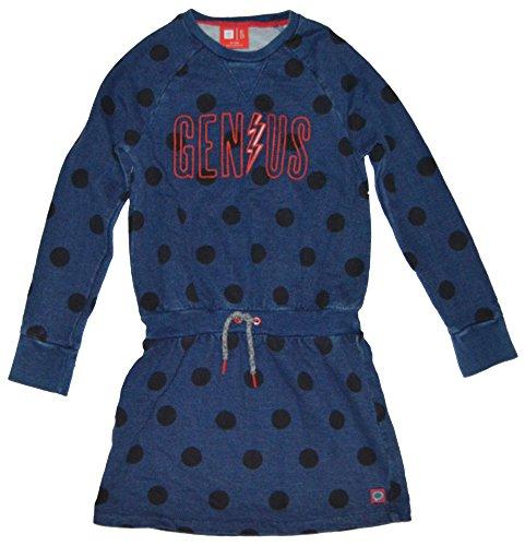 GAP Kids Girls Navy Ellen Degeneres Genius Polka Dot Dress XL 12