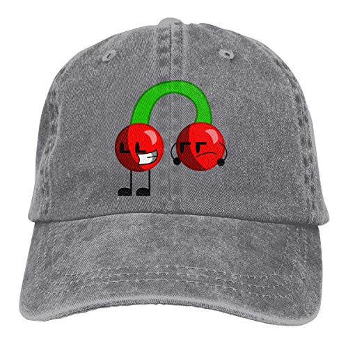Unisex Cherries Fashion Cotton Adjustable Baseball Cap Cowboy Hat ()