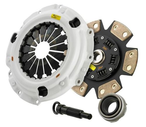 Clutch Masters 15106-HDC4-SK Clutch Kit (02-05 Subaru WRX 2.0L 242mm (2600#) FX400 4-Puck w/Steel Fly)
