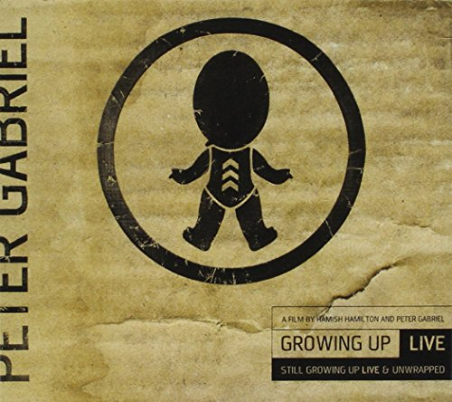 Blu-ray : Peter Gabriel - Peter Gabriel: Growing Up Live & Unwrapped + Still Growing Up Live (With DVD, 2 Disc)