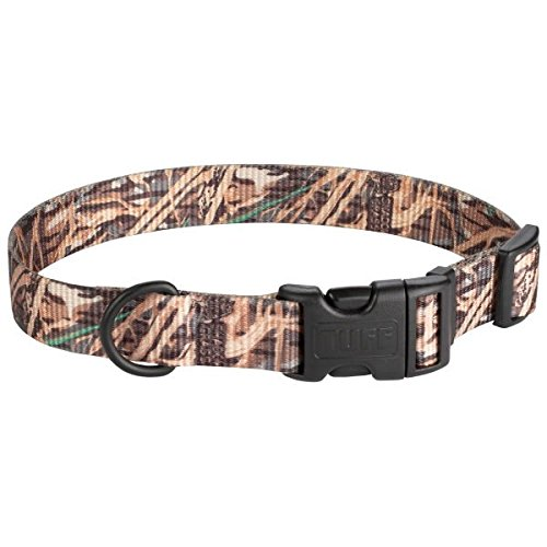 Scott - Adjustable Camouflage Rib Nylon Dog Collar - Size:Large 12