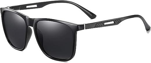نظارات شمسية مستقطبة للرجال والنساء، نظارات شمسية للقيادة للرجال، نظارات شمسية كلاسيكية للحماية من اشعة الشمس فوق البنفسجية UV400