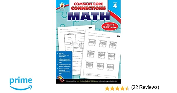 Counting Number worksheets math and money worksheets : Common Core Connections Math, Grade 4: Carson-Dellosa Publishing ...
