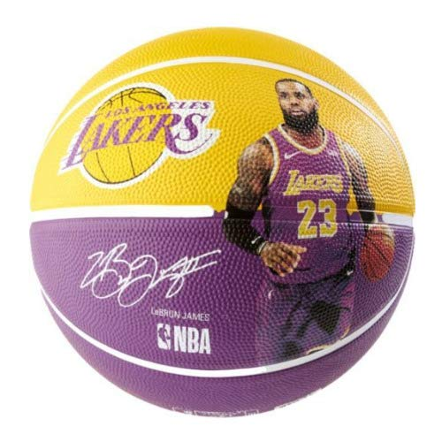 huge selection of 58acf bb70f Buy Spalding NBA Lebron LA Lakers 29.5