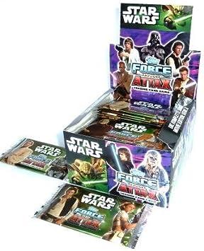 Star Wars Force Attax Serie II - Juego de cartas coleccionables (caja con 50 sobres, 250 cartas en total) Edición Alemana: Amazon.es: Juguetes y juegos