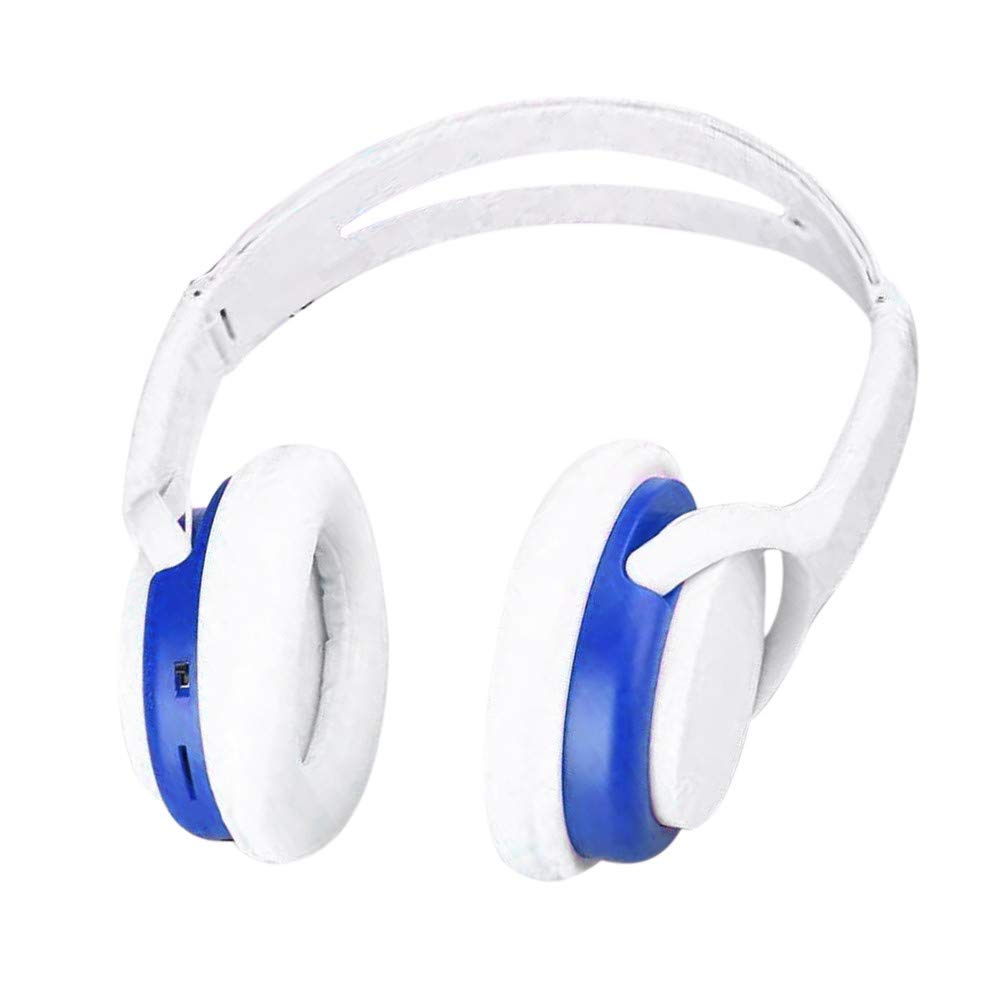 Headband Wireless Headphones Stereo Noise Cancelling Headset with Microphone,Support TF,FM Radio,Gaming Bluetooth Earphone for PC,Laptops,PS4