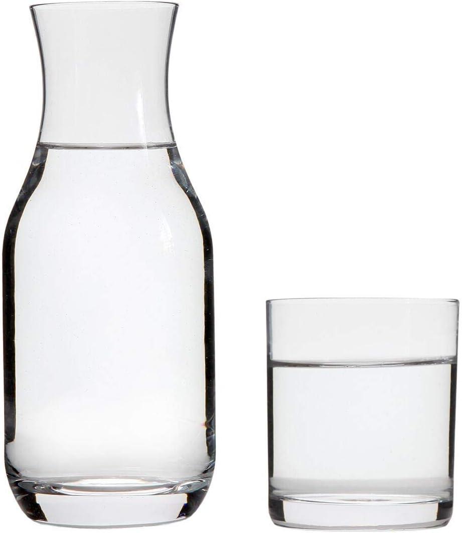 Jarra de Agua de Vidrio con Escala CNNIK 2L Jarra de Vidrio para Agua con Tapa Jarras de Cristal Botella de Cristal para Caliente /& Fr/ía Agua T/é Helado Bebidas y Jugo
