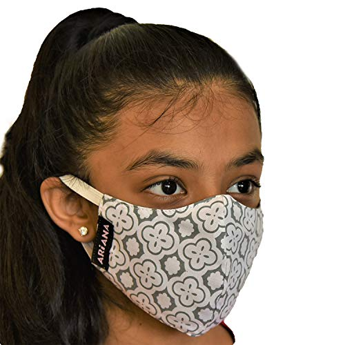 ARiANA DuoSafe Kids Face Mask (Extra Large 10-12 Years) – Mixed Designs & Colors Price & Reviews
