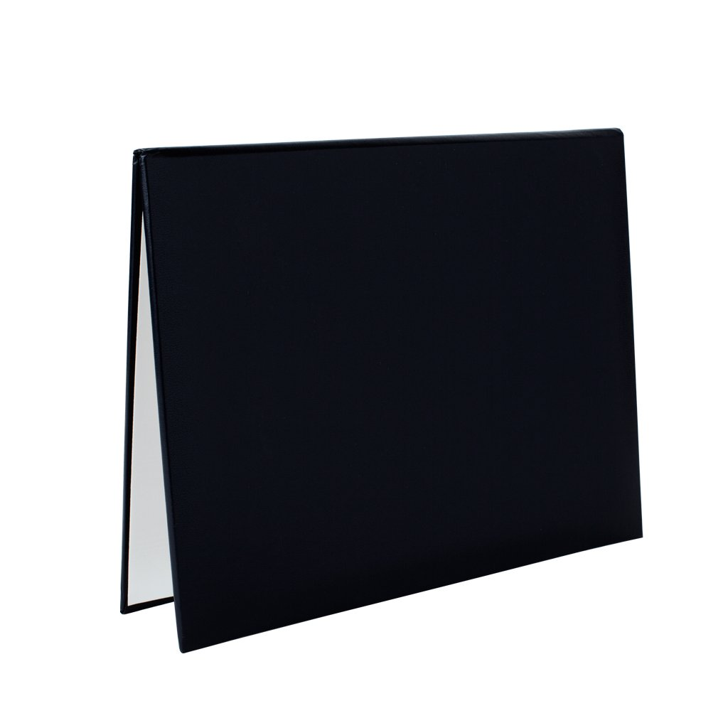 Black Diploma Cover 8.5'' x 11'' - pack of 25 by Class Act Graduation (Image #1)