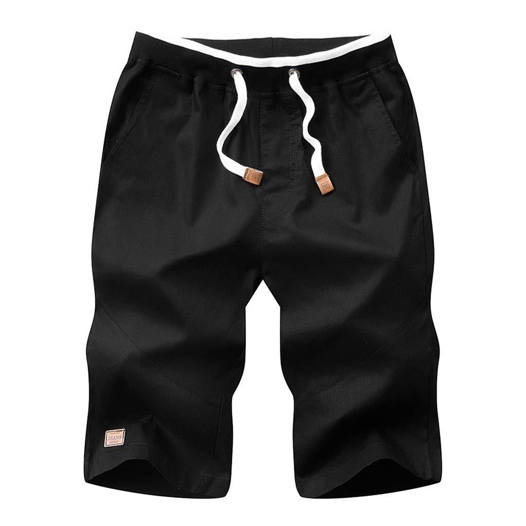 Geilisungren Pantalones para Hombre Hombre Trajes de ba/ño Solid Leisure Ba/ñador de nataci/ón para HombreBa/ñador para Hombre Corto Ba/ñador Hombre Natacion De