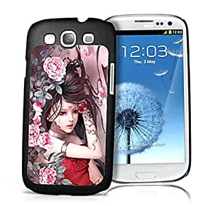 Nsaneoo - Woman Pattern 3D Effect Case for Samsung S3 I9300