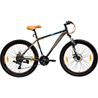 Frog Viper X-101 27.5 Inches 21 Speed Front Suspension Dual Disc Brake Bike for Adults Orange & Blue
