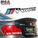 bmw m power - BMW M Power Performance Front Rear Metal Emblem Chrome Badge