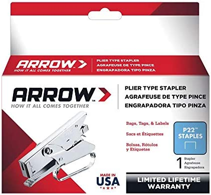 Cuadro de p22 5000 grapas de 6 mm Arrow 160656
