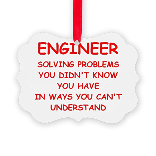 CafePress - ENGINEER3.Png - Christmas Ornament, Decorative Tree Ornament