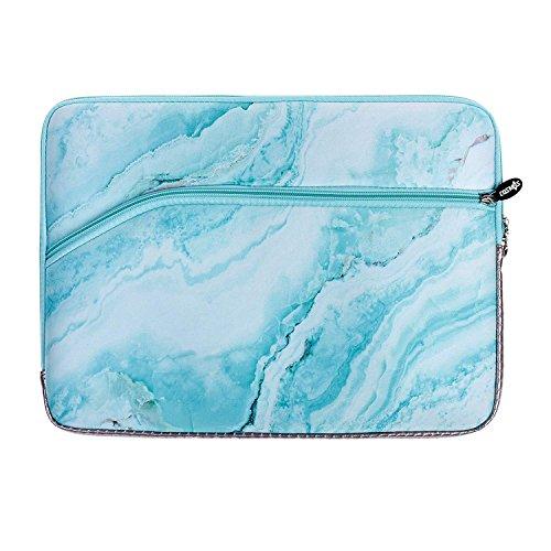 Cosmos Neoprene Protective Laptop Notebook Sleeve Case Bag for Old MacBook Pro 13 / MacBook Air 13/ Old MacBook Pro Retina Display 13 (Sky Blue Marble Pattern)