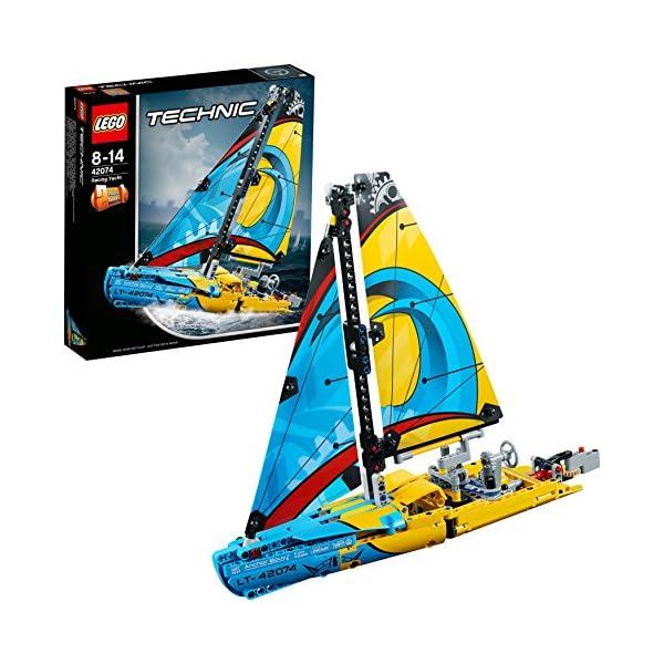 LEGO- Technic Yacht da Gara, Multicolore, 42074 1 spesavip