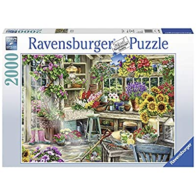 Ravensburger 13996 Gardener's Paradise 2000 Piece Puzzle for Adults - Every Piece is Unique, Softclick Technology Means Pieces Fit Together Perfectly: Toys & Games