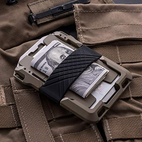 Dango M1 Maverick Spec-Ops Wallet - Black DTEX/Desert Sand - Made in USA