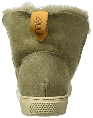 Grønne Grün khaki 2 Womens Sneep Nat Boots qHgaxw