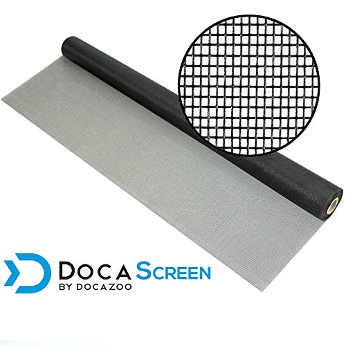 Gray Fiberglass Screen - DocaScreen Standard Window Screen Roll - 36