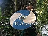 NauticalMart Renaissance Armor Viking Shield 25'' - LARP