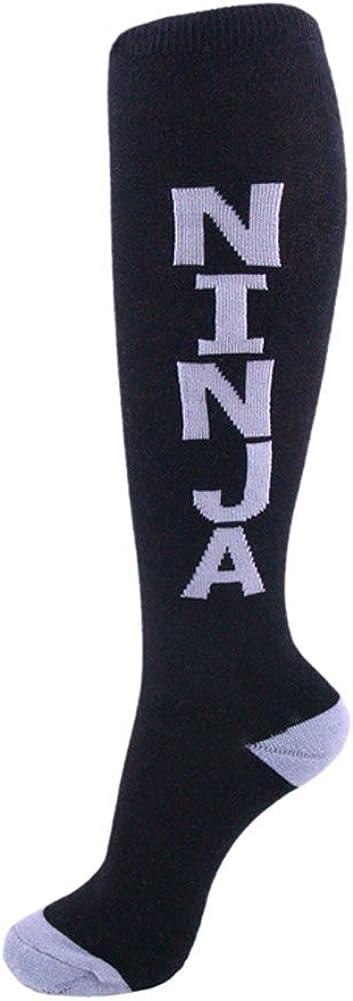 Urban Word Funny Unisex Knee High Socks (Ninja)