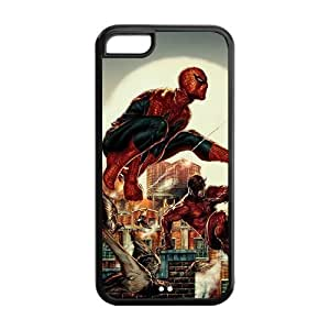 the Case Shop- Spider Man Spiderman Super Hero TPU Rubber Hard Back Case Silicone Cover Skin for iPhone 5C , i5cxq-838