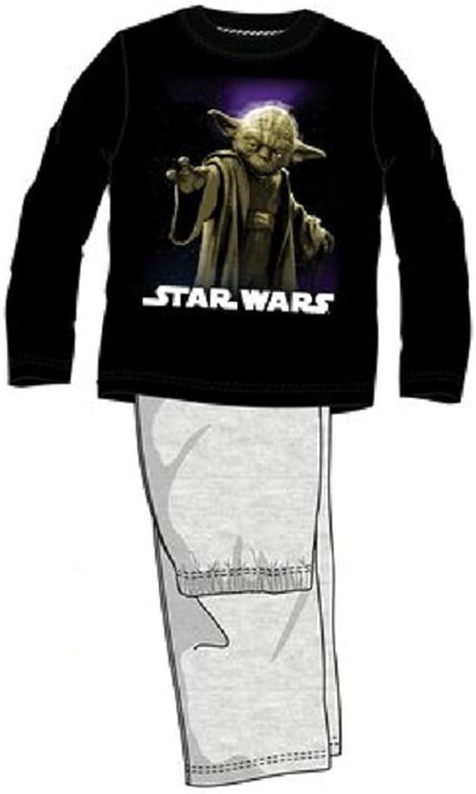 Pijama largo, diseño de Star Wars multicolor 6 años: Amazon ...