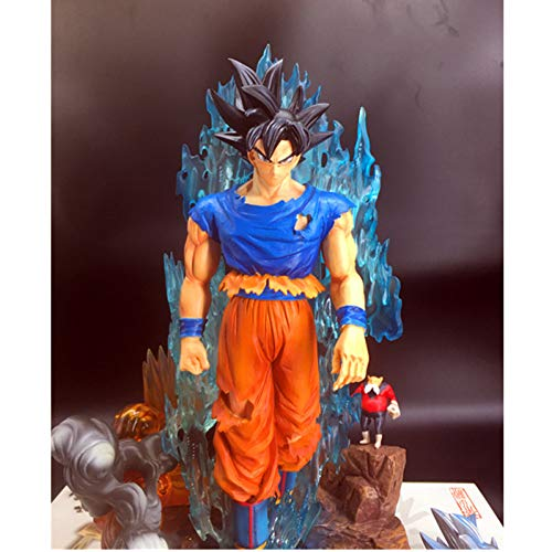 (JINZDUO Anime Dragon Ball Z Migatte No Gokui Son Goku Gk Resin Statue Action Figure Model Giocattolo)