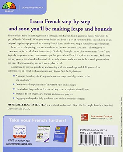 Foreign Language Fiction: Easy French Step-by-Step Media Books Non Fiction Education