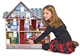 Melissa & Doug Classic Heirloom Victorian Wooden Dollhouse