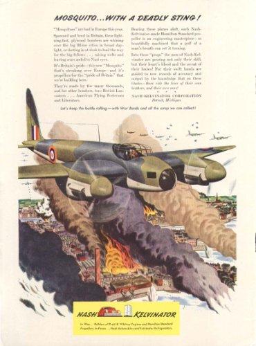 dehavilland-mosquito-with-sting-nash-kelvinator-ad-1943