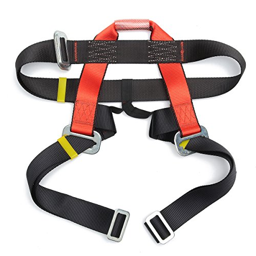 QOJA outdoor mountain rock climbing rappelling harness bust belt by QOJA