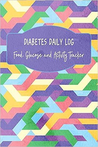 amazon diabetes daily log food glucose and activity tracker