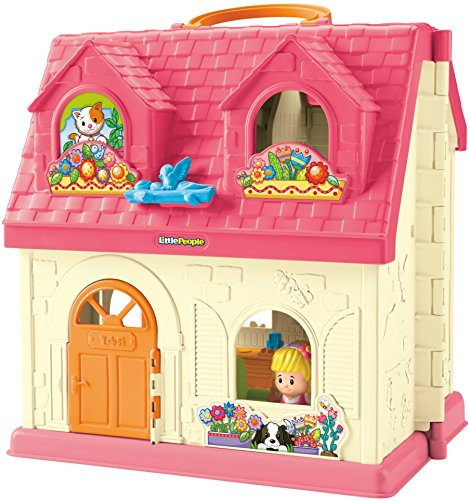 51ww3N8Cx1L - Fisher-Price Little People Surprise & Sounds Home Playset