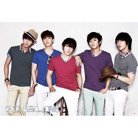 J-4531 F t  Island South Korea Boy Band- Choi Jong-hoon, Lee