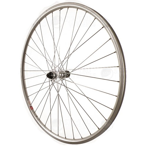 Alloy Road Wheels (Sta-Tru Silver Alloy Road 8-9-10 Speed Cassette Hub Rear Wheel (700X25))