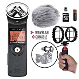 Zoom H1 Handy Portable Digital Recorder Kit with Deadcat Windscreen, Shockmount, Camera Mount and Mic Grip