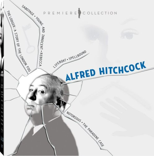 - Alfred Hitchcock Premiere Collection (Lifeboat / Spellbound / Notorious / The Paradine Case / Sabotage / Young and Innocent / Rebecca / The Lodger)