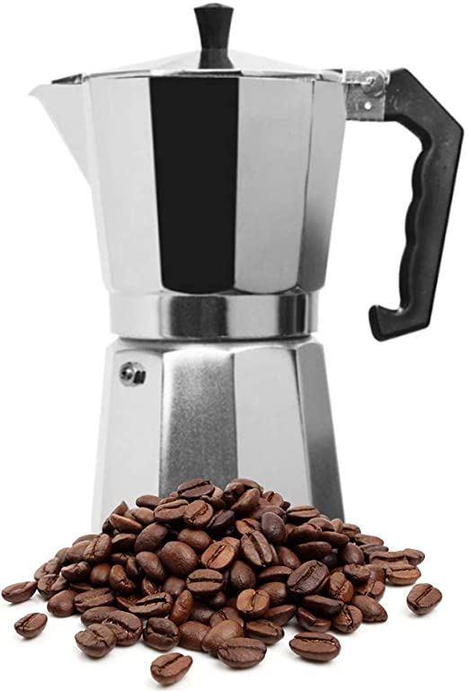 Amazon.com: KIKIGOAL - Cafetera de aluminio italiano ...