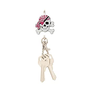 Amazon.com: Finders Key Purse Girly pirata clave Cadena ...